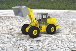 Front End Loader in Dumping Position