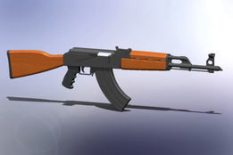 Ak 47 (Yugoslavian M70) rifle