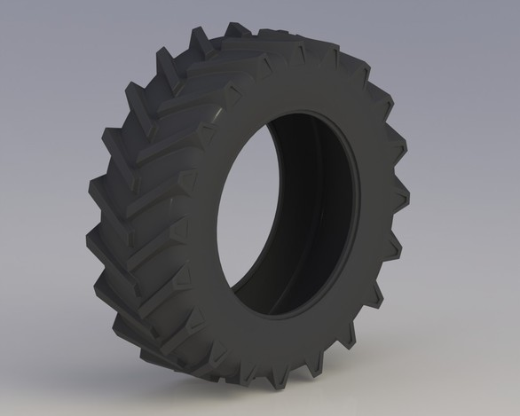how to change a tractor tire