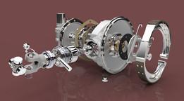 M72 Rear Wheel Drive/Brake Assembly
