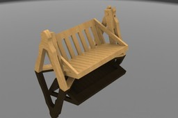 Request: Low profile outdoor bench glider and/or swing