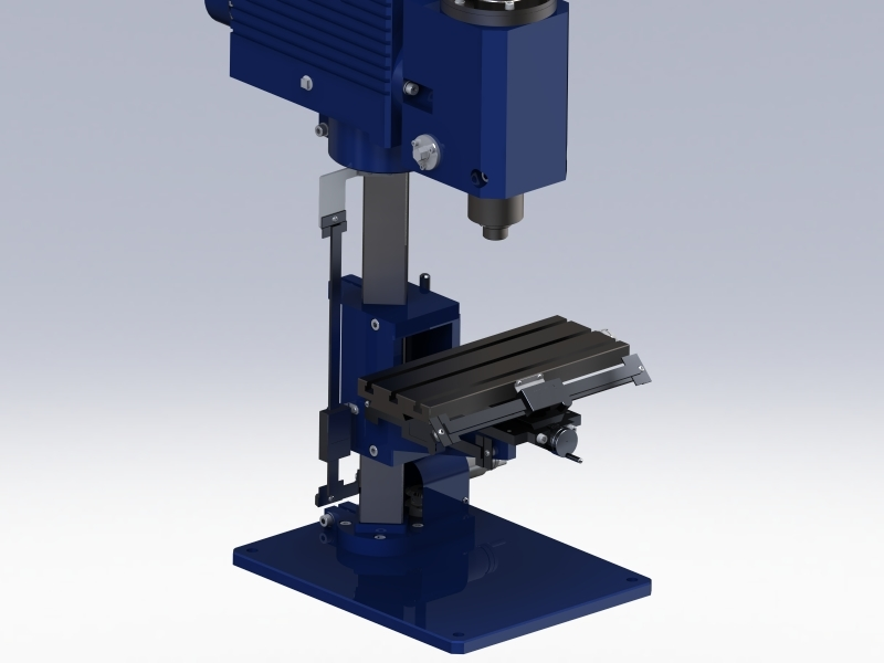 Desktop Milling Machine (Traditional) | 3D CAD Model Library