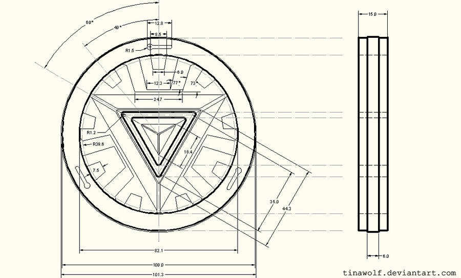 Iron Man Blueprints Arc Reactor | www.pixshark.com ...