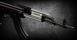 """Aggressor"" AK front rail system"