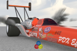Top Fuel Dragster by Tommy
