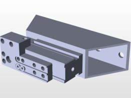 Drill template krf-zr Krauss aluminum
