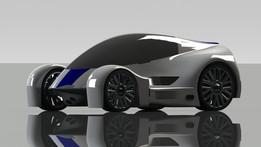 Futuristic car 2