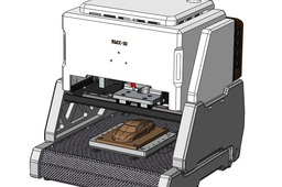 3-axis desktop cnc machining(concept model)
