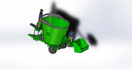 feed mixer  6m³