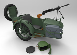 """M-72"" collaboration project- ""SIDECAR-military version"""
