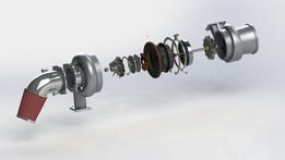 Turbogruppo - turbocharger group