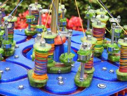 3D printed braiding machien