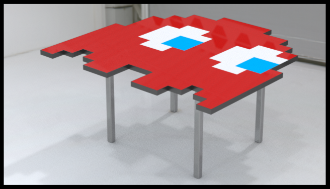 Packman Ghost Table