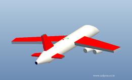 Aeroplane using creo