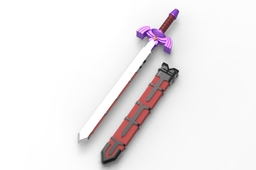 Master Sword with Scabbard