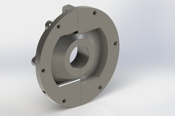 Rudder carrier bearing