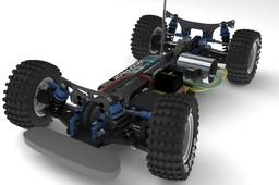 XRAY T2009 RC Car