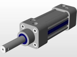SOLIDWORKS, cylinder - Most downloaded models   3D CAD Model