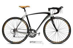 Carbon road bicycle frame concept