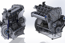 GSwirl 200 CR Turbo Diesel engine