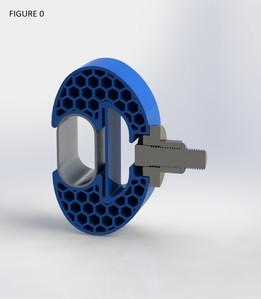 Flexure Handrail Clamp