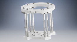 Material spring clamp for cnc router