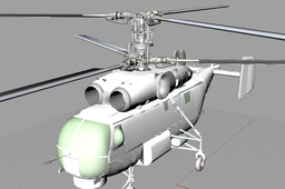 helicopter Khamov - for Waber