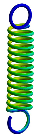 tension spring analysis