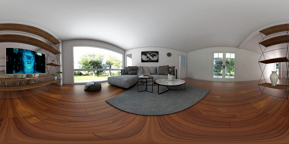How to render 360 Panoramic image with Sketchup and Vray