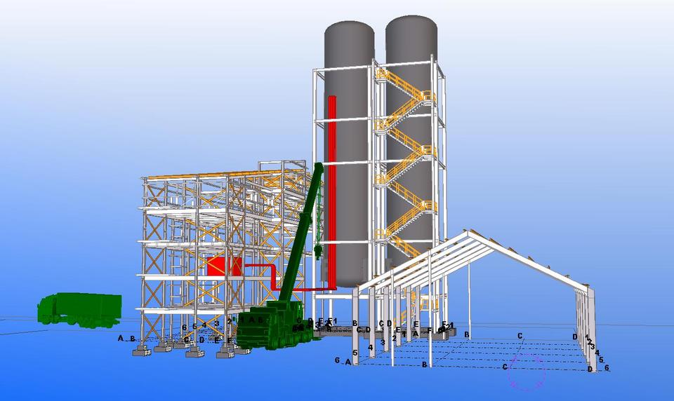 Tekla Structures Model | 3D CAD Model Library | GrabCAD
