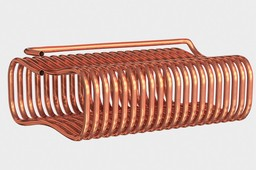 Copper Coolant Coil