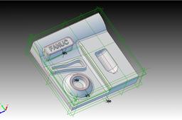 3D milling profiling demo