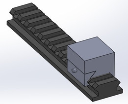 (Don Annekens) Picatinny Rail With a Base Connector