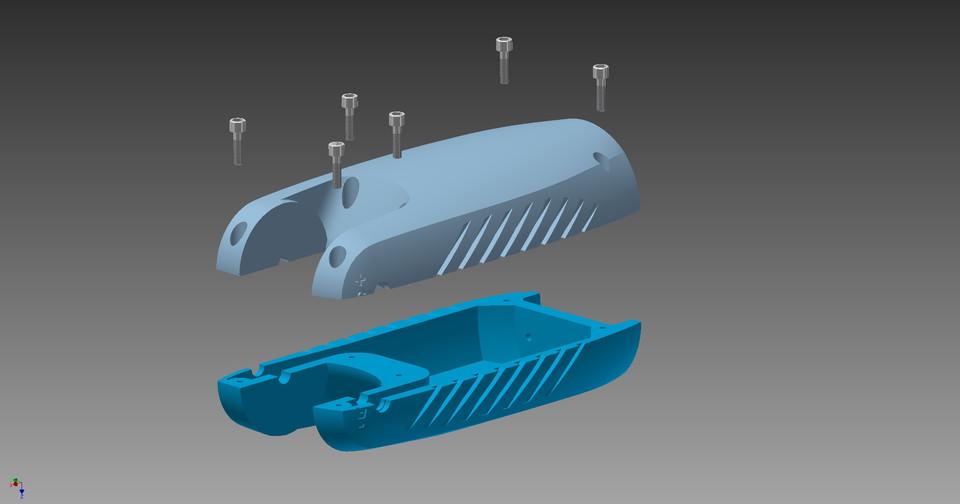 Zortrax robotic arm 3D printable | 3D CAD Model Library