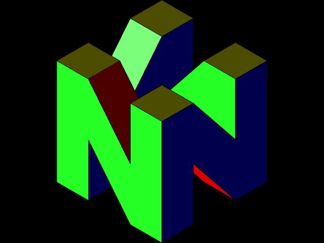 Nintendo 64 Logo 3d Printing 3d Cad Model Library Grabcad