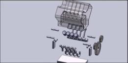 8-cylinder engine, Automobile - Motor 8 cilindros, Automobilística