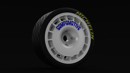 Compomotive Tarmac wheel