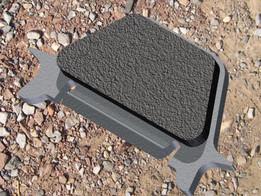 Motorcycle Brake Pad, Rear.