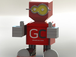Grabby The Bot    GrabCad
