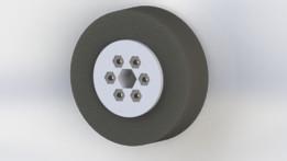 Custom FRC wheel