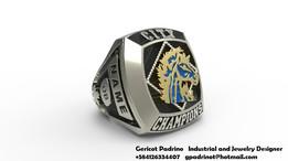BCI Mustangs Signet Ring