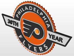 Philadelphia Flyers 30th Anniversary