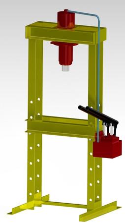 hydraulic shop press 25 ton