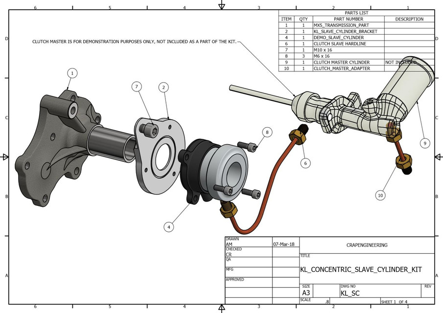 mx5 v6 converion kit, because life is too short to be on four cylinders    3d cad model library   grabcad