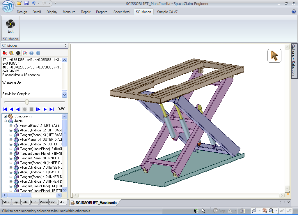 Scissor Lift Designs Scissor Lift Spaceclaim 3d