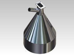 material feeding funnel