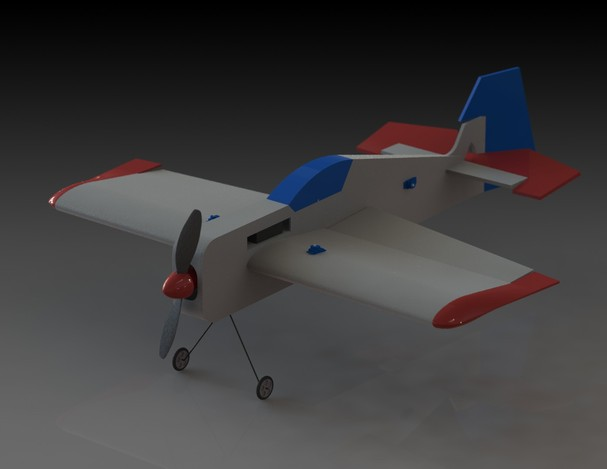 "Funfly airplane ""Elektromaniac"""