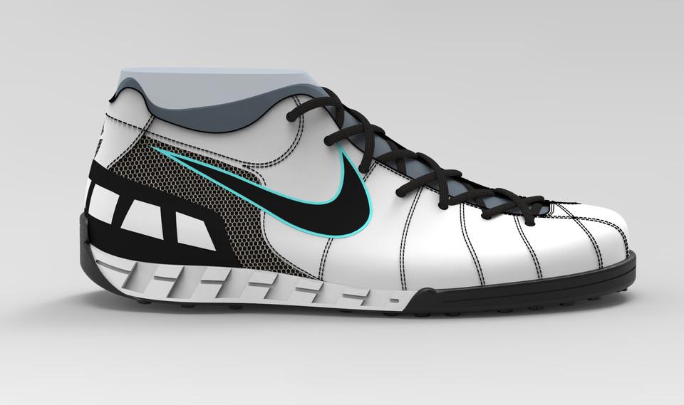 Nike T90 Sport Indoor Shoe (8Uk Fitting