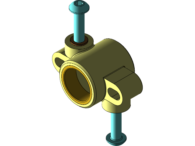 Rc Helicopter Swashplate 3d Cad Model Library Grabcad