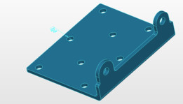 Warrior 3500 Winch mounting plate